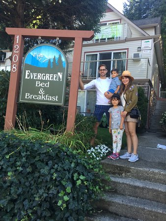 Evergreen B & B: The day that we signed on the dotted line to purchase the Evergreen late 2016