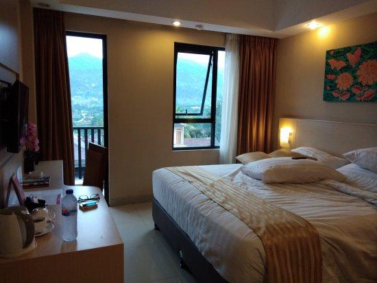 bedroom and balcony picture of grand diara hotel cisarua rh en tripadvisor com hk