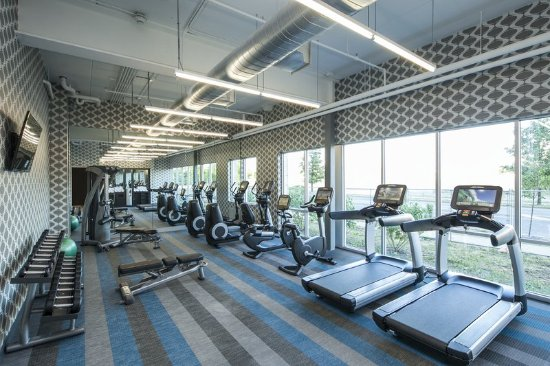 Aloft Syracuse Inner Harbor: Health club