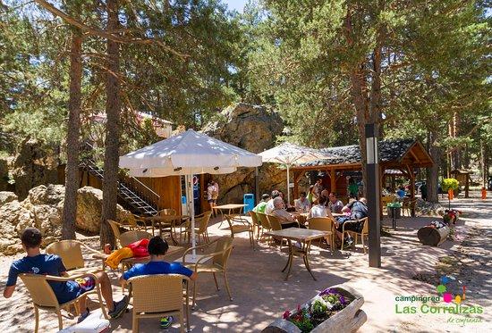 Bronchales, Spanien: Terraza Restaurante