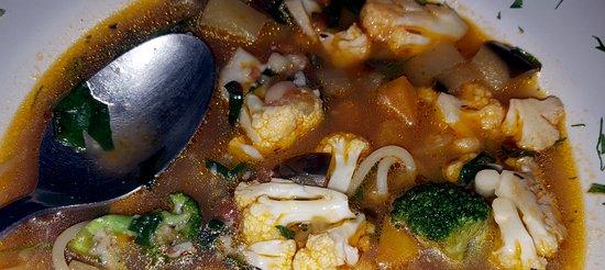 Ristorante Il Mare: Minestrone soup
