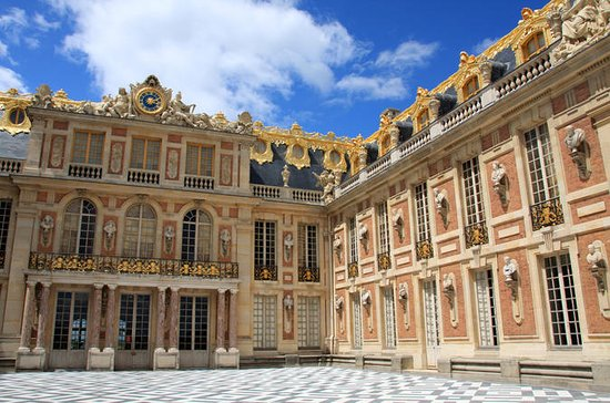 Palace of Versailles med Hopp over...