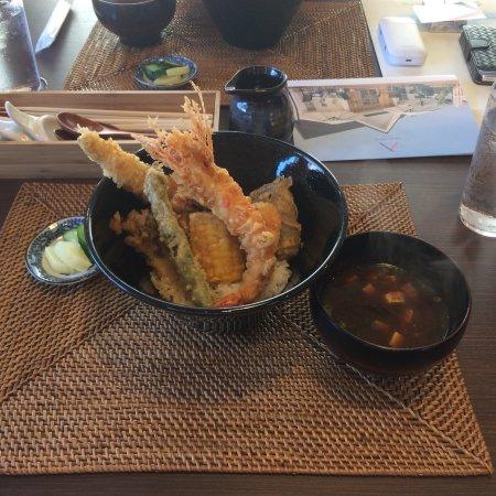 天ぷら と ばり