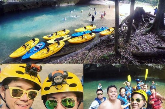 Cave Kayaking and Zipline Combo Tour ...