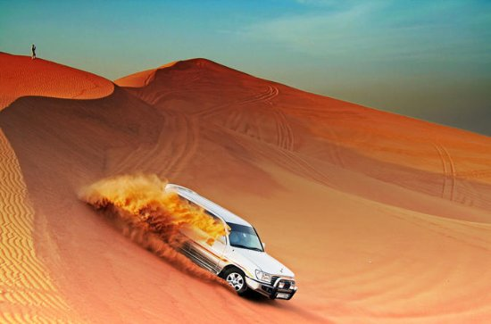Dubai City Tour and Evening Desert Safari with BBQ Dinner