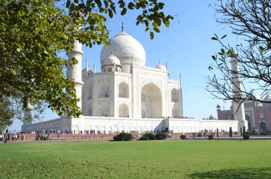 Dagstur: Taj Mahal samme dagstur fra...