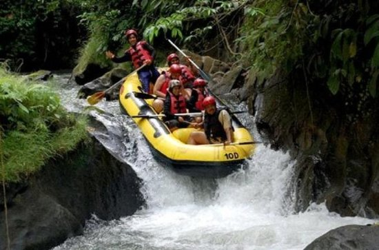 Ubud Ayung River Rafting Uluwatu Fire...