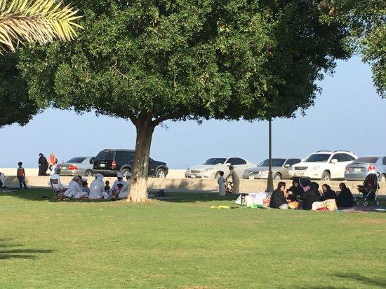 Kalba Corniche Park
