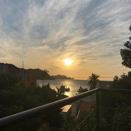 Svahns ApartaHotel: Desde la terraza, bellos atardeceres