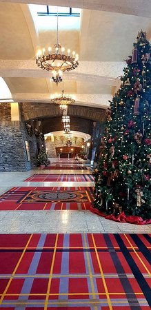 Fairmont Banff Springs: Foyer