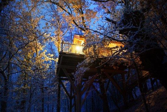 Cottance, França: Sous la neige Décembre 2017