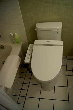 japanese toilet. Coast Victoria Hotel  Marina By APA A Japanese Toilet No Paper Needed Picture Of