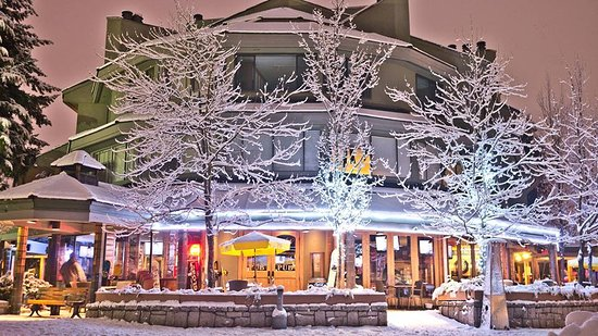 Whistler's a winter wonderland and Tapleys is your local