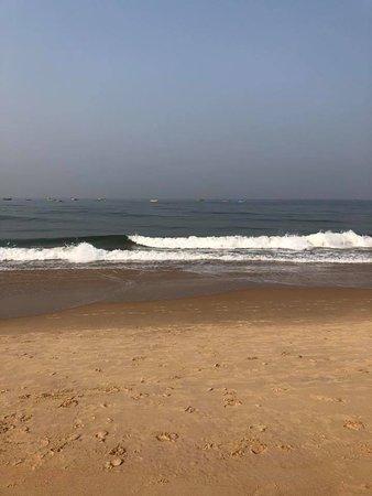 Hotel Goan Heritage: Beach