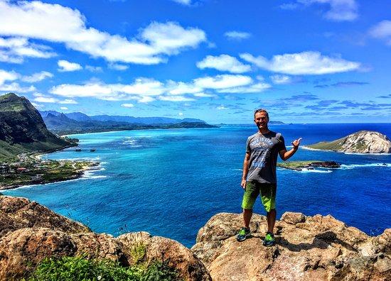 Honolulu, Havai: Makapu'u Point Lighthouse Trail, Oahu, Hawaii