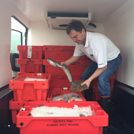 Dunmore East, Ireland: Fresh fish