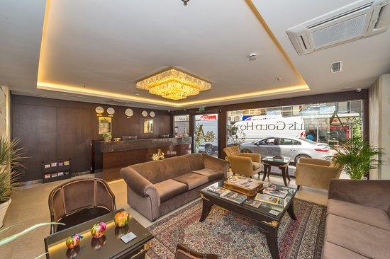 Aprilis gold hotel istanbul turquie voir les tarifs 10 avis et 122 photos for Grand naki hotel