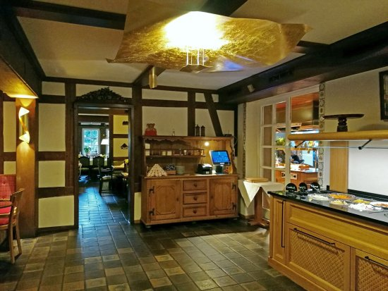 Aua, Allemagne : ресторан утром, к завтраку