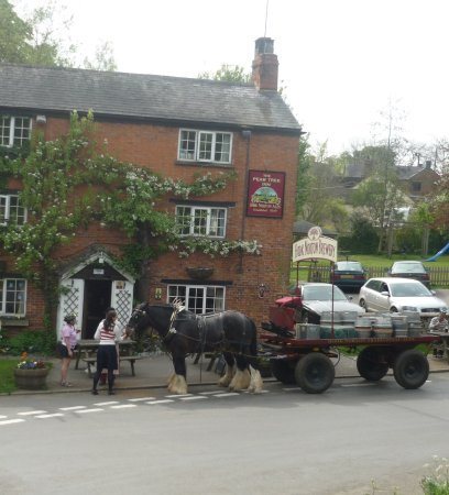 Hook Norton, UK: We still delivery the traditional way three times a week to our local pubs