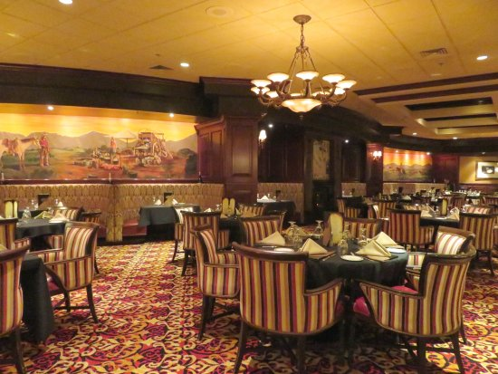 Beautiful Silverado Steakhouse South Point Hotel In Las Vegas (09/Jan/18).