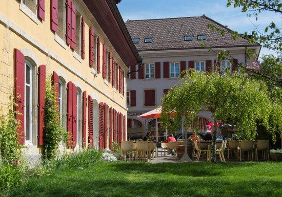 Couvet, Svizzera: Notre terrasse