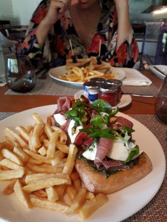 Anse Georgette: Essen im Lemuria Resort