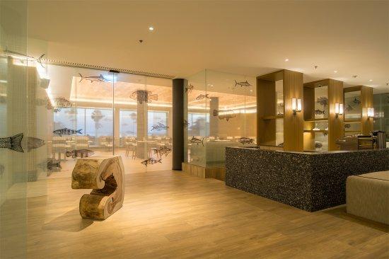 The ShellSea Krabi: The entrance of Cerulean Restaurant