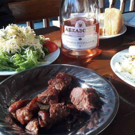 Restaurant nartaa sukhumi restaurantanmeldelser for Abkhazian cuisine