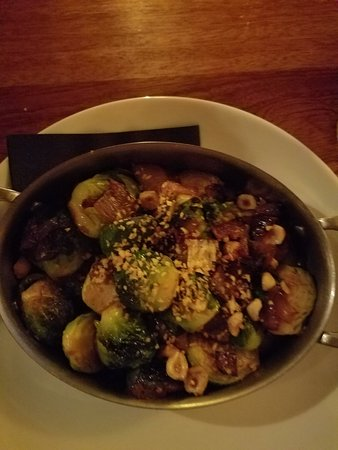 Bearsville, NY: Brussels Sprouts with hazelnuts