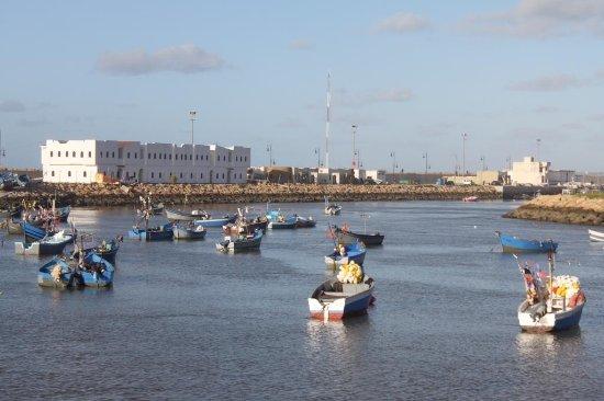 The fishermen boats