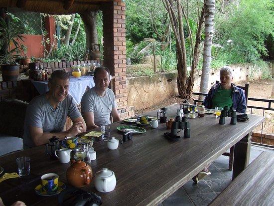 Letsitele, Südafrika: Guests from Europe