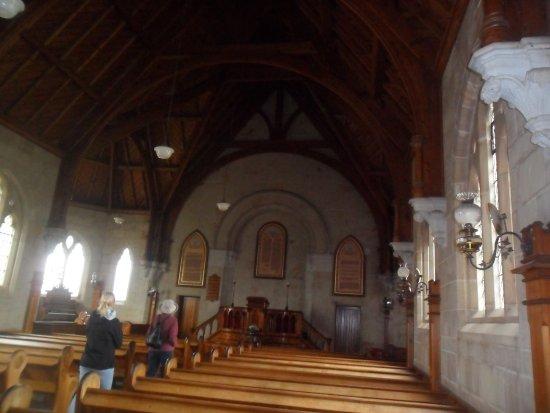Ross, Australia: Inside the church