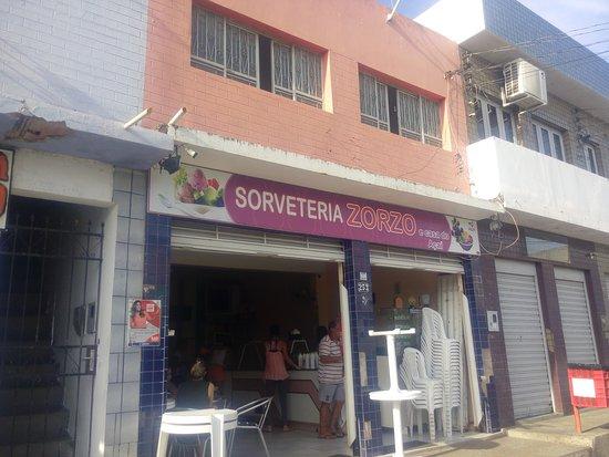 Ibotirama: Lugar legal para tomar sorvete de massa sabores de frutas