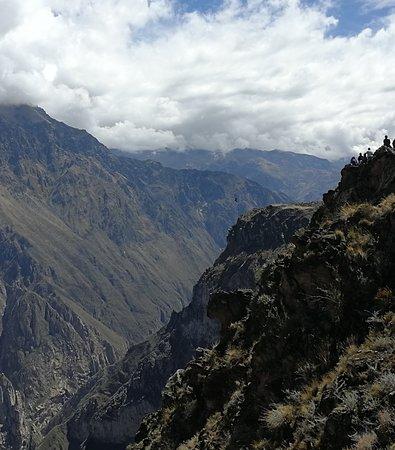 Cabanaconde, Peru: see the condor ?