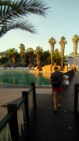 PortAventura Hotel Caribe: Zona de piscinas