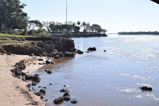 Isla del Cerrito, Argentyna: Rio Paraguay y Parana