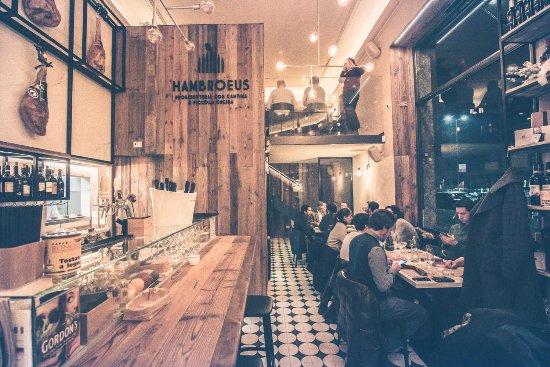 Hambroeus - Prosciutteria con Cantina e Piccola Cucina, Mailand ...