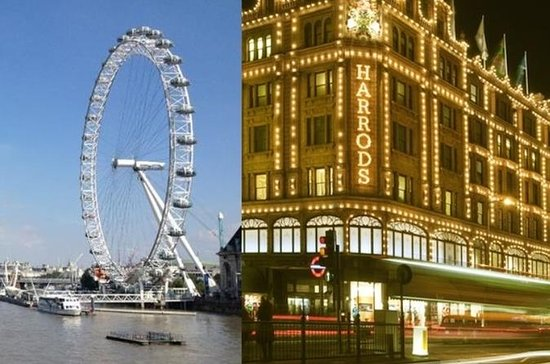 Private Chauffeur Driven London Sightseeing and Shopping Trip