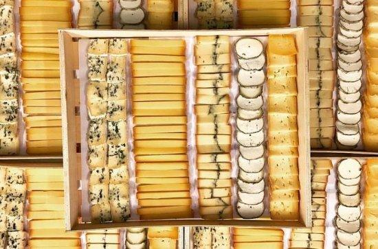 Degustación de queso y vino de la...