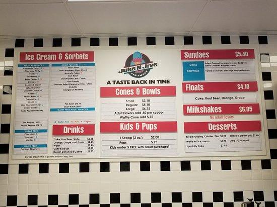 Braselton, GA: Juke N Jive Creamery