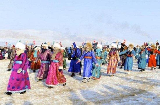 Festival de hielo en el lago Khuvsgul