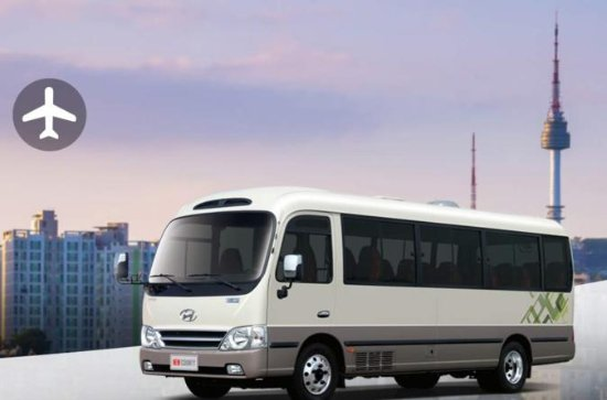 Incheon International Airport Minibus Transfers (ICN Pickup) for Seoul
