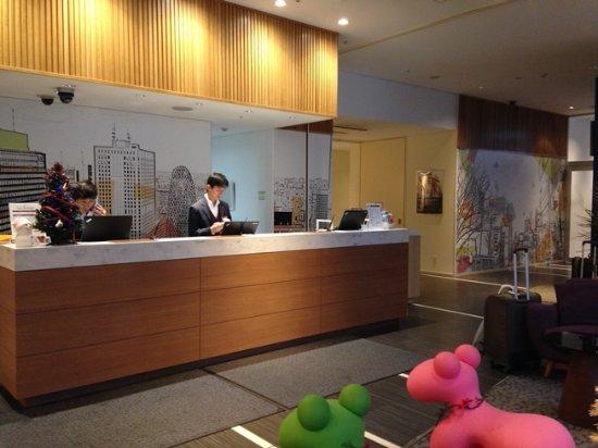 Citadines Shinjuku Tokyo: Front Desk
