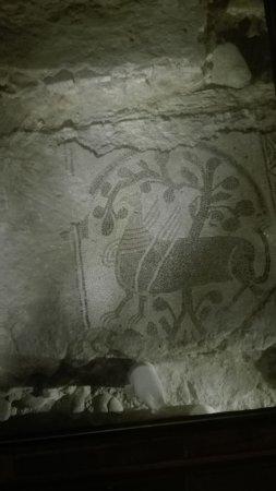 San Benigno Canavese, Italien: Mosaico 1 della cappella originale