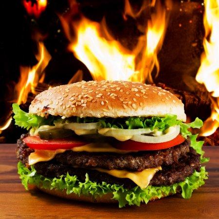 Beckingen, Германия: Big Connor Ranch Burger 100 % reines American Beef