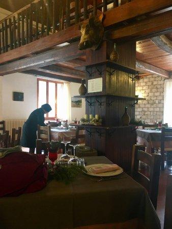 Sellano, Italia: sala da pranzo