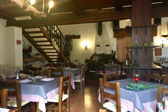 Sellano, Италия: sala da pranzo