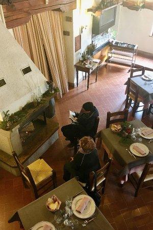Sellano, Italia: vista dal soppalco