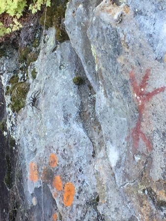 Perrault Falls, Canada: Explore to find Pictographs around the lake.