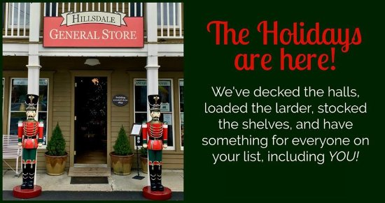 Holidays @ The Hillsdale General Store